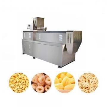 Full Autoamtic Small Scale Corn Snack Food Extruder Machine