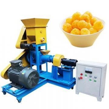 J Shape Corn Puff Snack Extruder for Ice Cream
