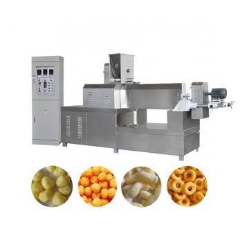 Direct Puff Corn Snack Food Double Screw Extruder Machine