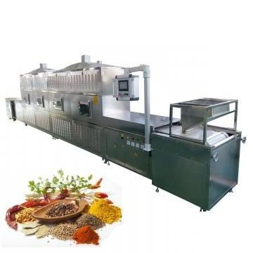 Microwave Briquette Mesh Belt Drying Unfreeze Equipment