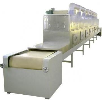 Automatic Tunnel Microwave Grain Nuts Wheat Curing Machine