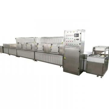 Tunnel Industrial Spice Nutmeg Powder Microwave Drying Sterilization Equipment