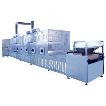 Large Industrial Continuous Microwave Mesh Belt Drying Equipment