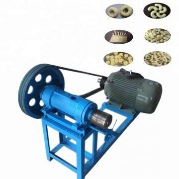 Automatic Twin Screw Extruder Wheat Corn Puffs Snack Making Machinery