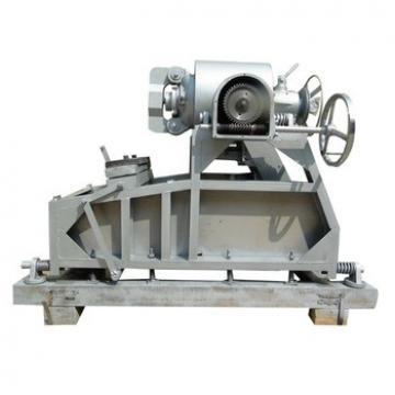 twin screw automatic wheat corn puff ring food snack production machine