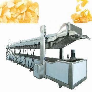 300kg Automatic Algeria Gas Heating Potato Chip Production Making Machine Line