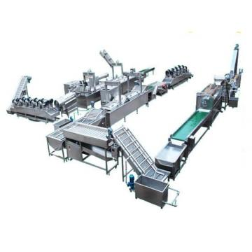100-500kg/H Fully Automatic Fried Potato Chips Production Line