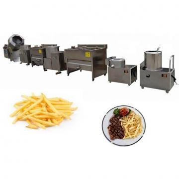 Peanut Banana Deep Fryer Frozen Potato Fingers Chips Frying Machine French Fries Production Line