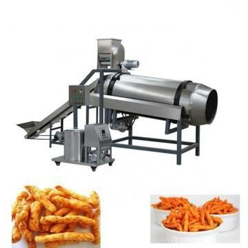 Popular and Industrial Corn Snacks Double Screw Puffing Extruder for Small Business with Good Taste