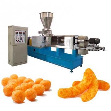 Fried Wheat Flour Chips Process Line Fried Flour Chips Process Line Extruded Bugles Snacks Extruder