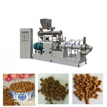 Puffed Animal Feed Extruder Production Plant Dog Pet Food Making Machine