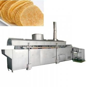 Frying Food Crisp Machines Potato Crisp Processing Line Salad Bugles Chips Food Making Machine Fried Rice Flakes Machine