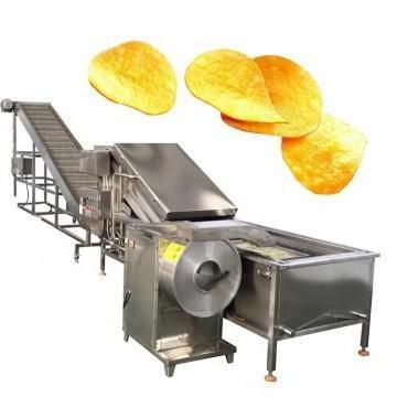 Hot Sale Potato Chips Crisps Making Machine/Frozen French Fries Frying Making Machine