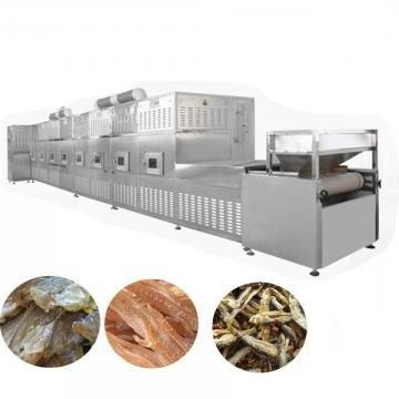 Microwave Grain Corn Grits Soyabean Mung Bean Drying Sterilizing Curing Machine