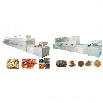 Microwave Nut Pistachios Seed Baking Curing Drying Sterilizing Equipment