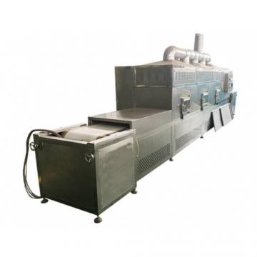 Tunnel Belt Microwave Chestnuts Nuts Curing Drying Machine PLC Control
