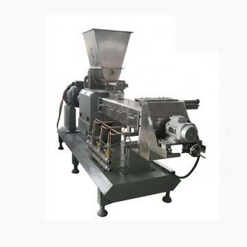 large scale twin screw extrusion corn cheese cereal puffed snack food extruder production machine