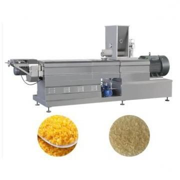Fortified Rice Kernel Production Line Artificial Rice Extruder Making Machine