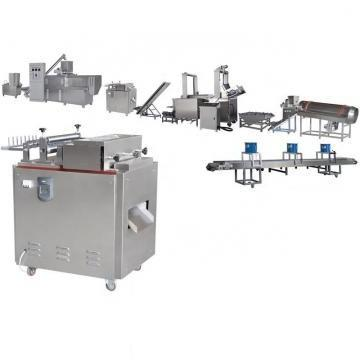 Fresh Roasted Oven Baked Cheese Flavor Rice Chips Making Extruder Machine Rice Crisps Crackers Production Line