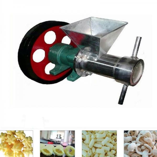 Crisp Cereal Corn Snack Extruder/Puffed Rice Flour Stick Cutting Extruding Machine/Millet Puffed Food Screw Extruder Machine #3 image