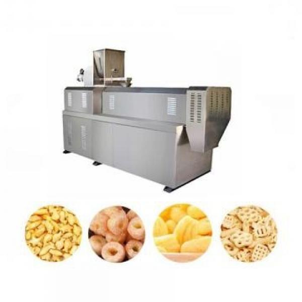 Crisp Cereal Corn Snack Extruder/Puffed Rice Flour Stick Cutting Extruding Machine/Millet Puffed Food Screw Extruder Machine #2 image