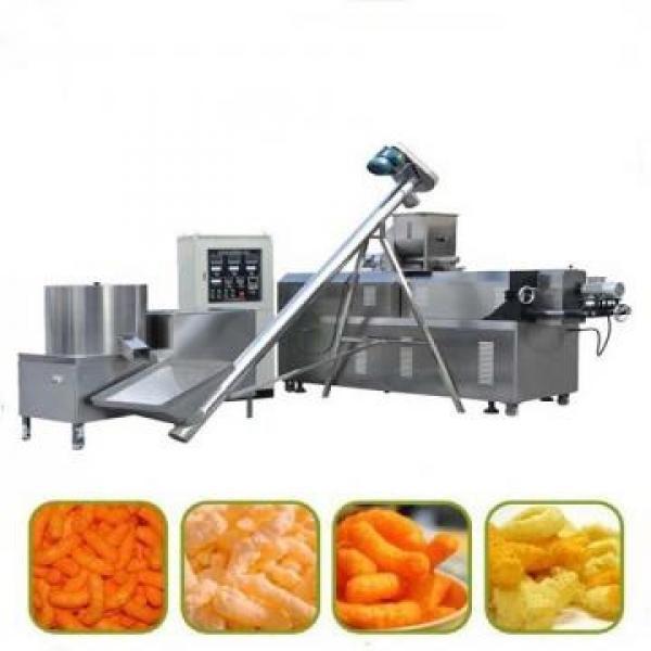 Direct Puff Kurkure Corn Snack Food Pellet Making Extruder Machine / Corn Flakes Food Machinery / Breakfase Cereal Equipment Core Filling Baby Food Line #3 image