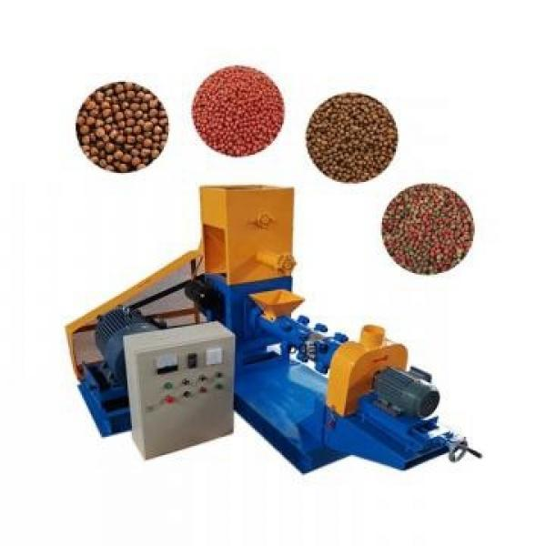 Dry Animal Poultry Feed Pellet Making Machine Pet Dog Cat Treat Food Production Line #2 image