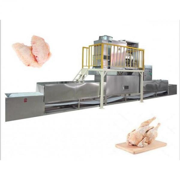 650kg IQF Tunnel Freezer Industrial Use Freezing Machine for Seafood/Shrimp/Fish/Meat/Fruit/Vegetable/Pasta #1 image