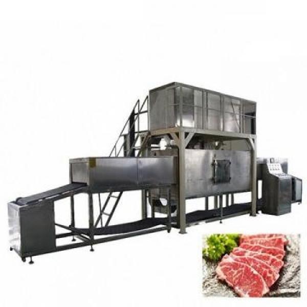 1200kg IQF Tunnel Freezer Industrial Use Freezing Machine for Seafood/Shrimp/Fish/Meat/Fruit/Vegetable/Pasta #3 image