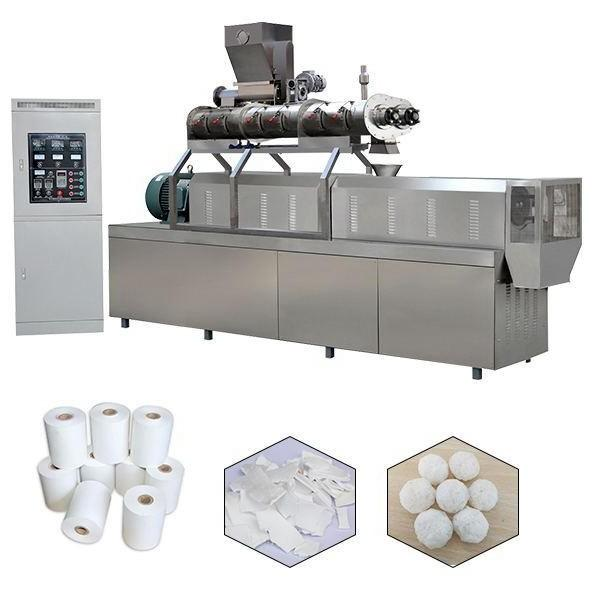 Tse-50 Starch Plastic Compounding Pelletizer/Mini PVC Free Foam Plastic Water-Ring Pelletizer Granulator/Double-Stage Small Plastic Products Making Machine #2 image