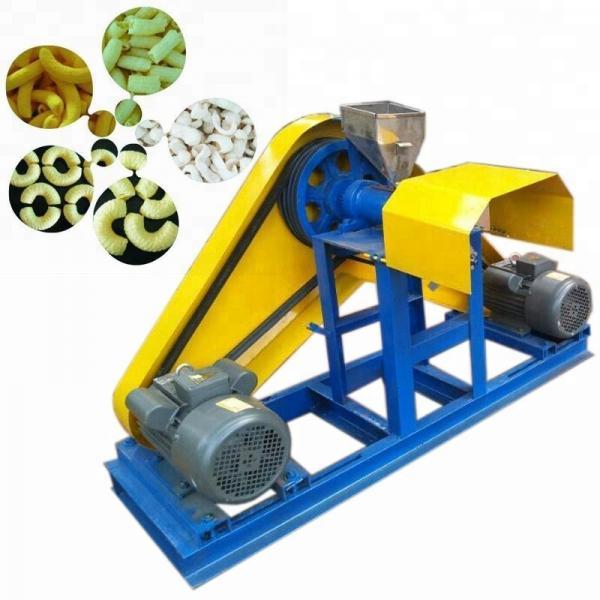 Cheesy Crunchy Corn Rice Puffs Snacks Making Machine #1 image