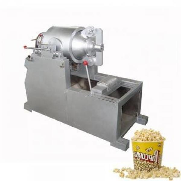 Corn Cheese Ball Extruder Snacks Expander Bulking Inflating Food Maize Curls Puffs Making Machine #1 image