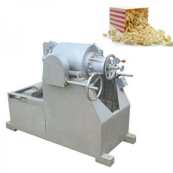 Corn Cheese Ball Extruder Snacks Expander Bulking Inflating Food Maize Curls Puffs Making Machine #3 image