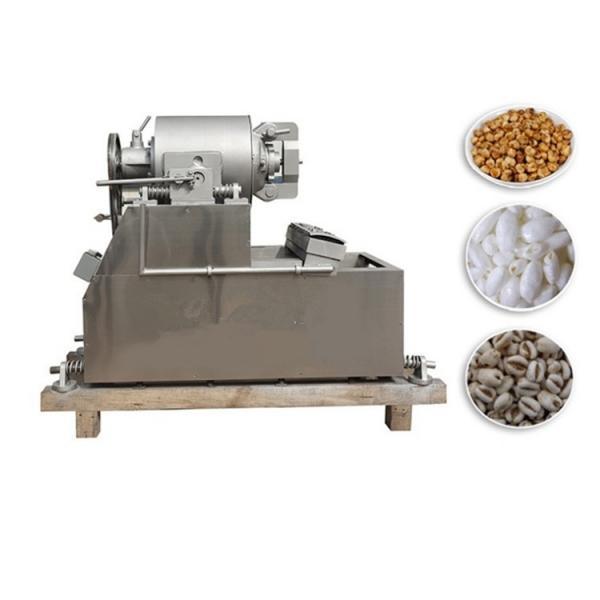 Automatic Crisp Puffed Food Grain Wheat Corn Rice Making Machine #2 image