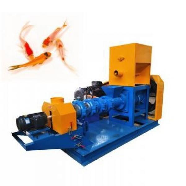 350-400kg/H Wet Way Floating Fish Pet Food Feed Making Machine #2 image