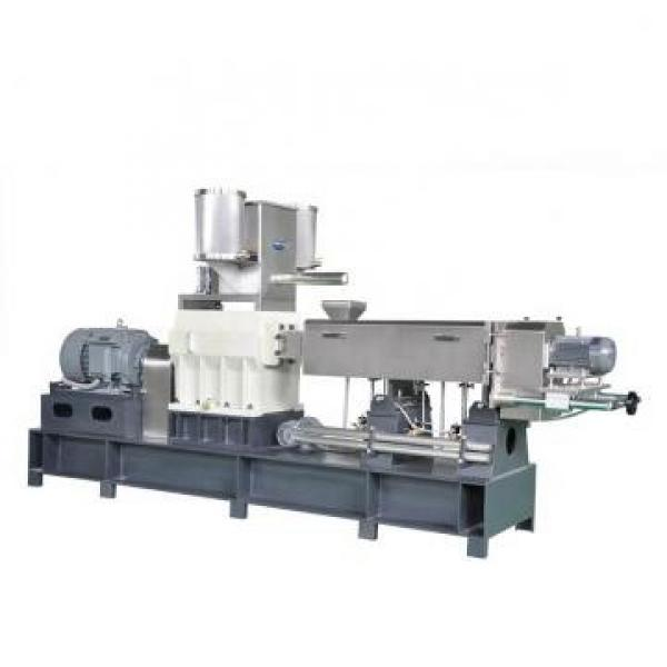 Plastic Extruder Machine for Making PP Woven Bag Mask Pellets and Masterbatch with Best Price/Animal Pet Food Pellet Making Machine Dog Feed Pellet Machine #2 image