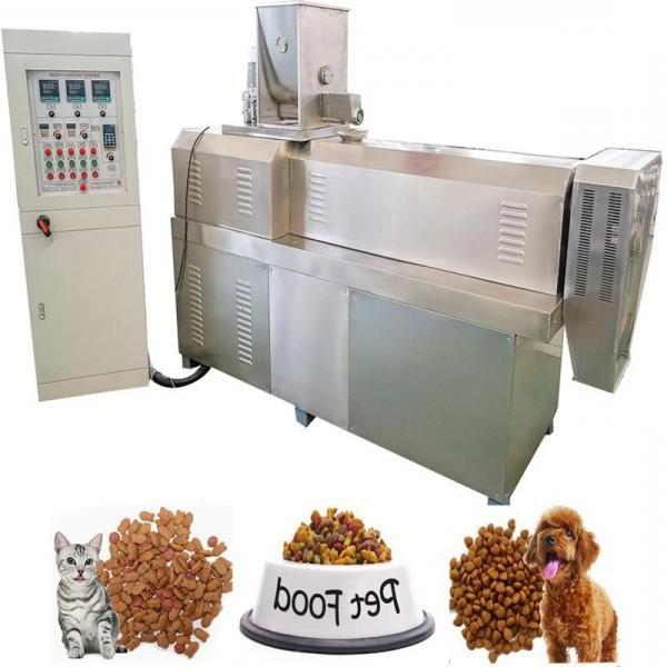 Plastic Extruder Machine for Making PP Woven Bag Mask Pellets and Masterbatch with Best Price/Animal Pet Food Pellet Making Machine Dog Feed Pellet Machine #1 image