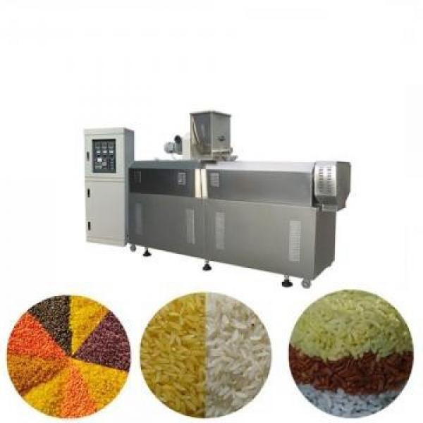 Automatic Extruded Puffed Core Filled Bar Sticks Pillow Corn Rice Snacks Extruder Processing Line Center Filling Food Making Machine Production Line #1 image