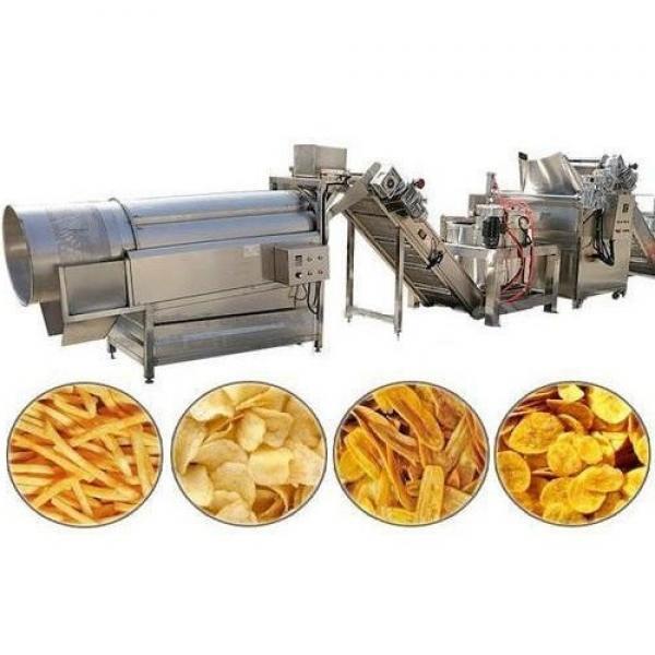 100kg Per Hour Fully Automatic Potato Chips Crisps Making Equipment #3 image