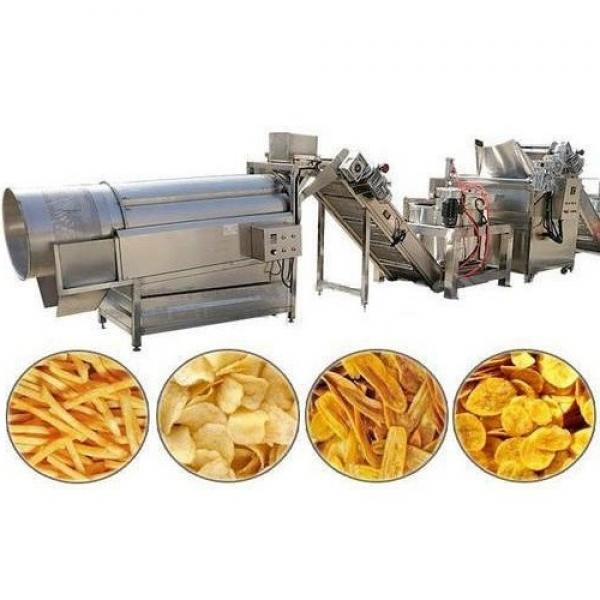 Fully Automatical Potato Chips Crisps Making Machines Frozen French Fries Frying Flacks Sticks Production Line #3 image